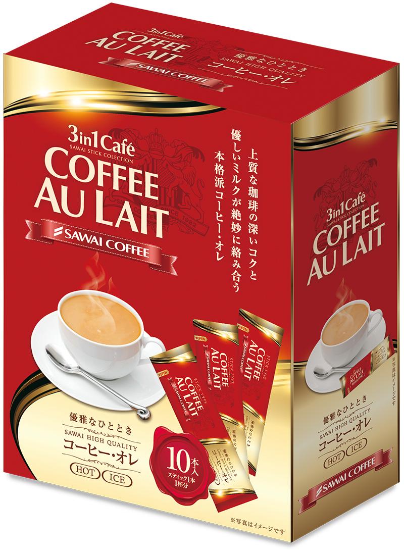 澤井咖啡 3IN1 咖啡歐蕾