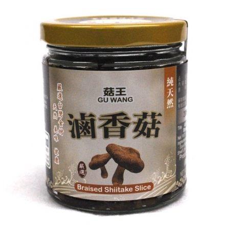 菇王 純天然滷香菇 240g/罐 原價$200 特價$185