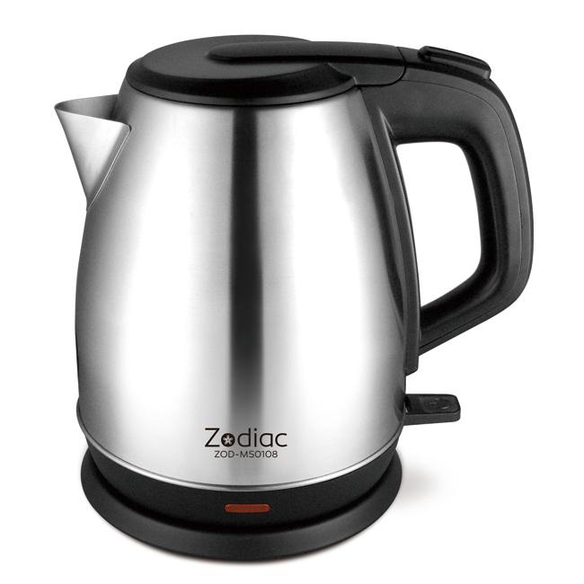 《省您錢購物網》全新~諾帝亞1.5L不鏽鋼快煮壺ZOD-MS0108+台製精品鬧鐘*1