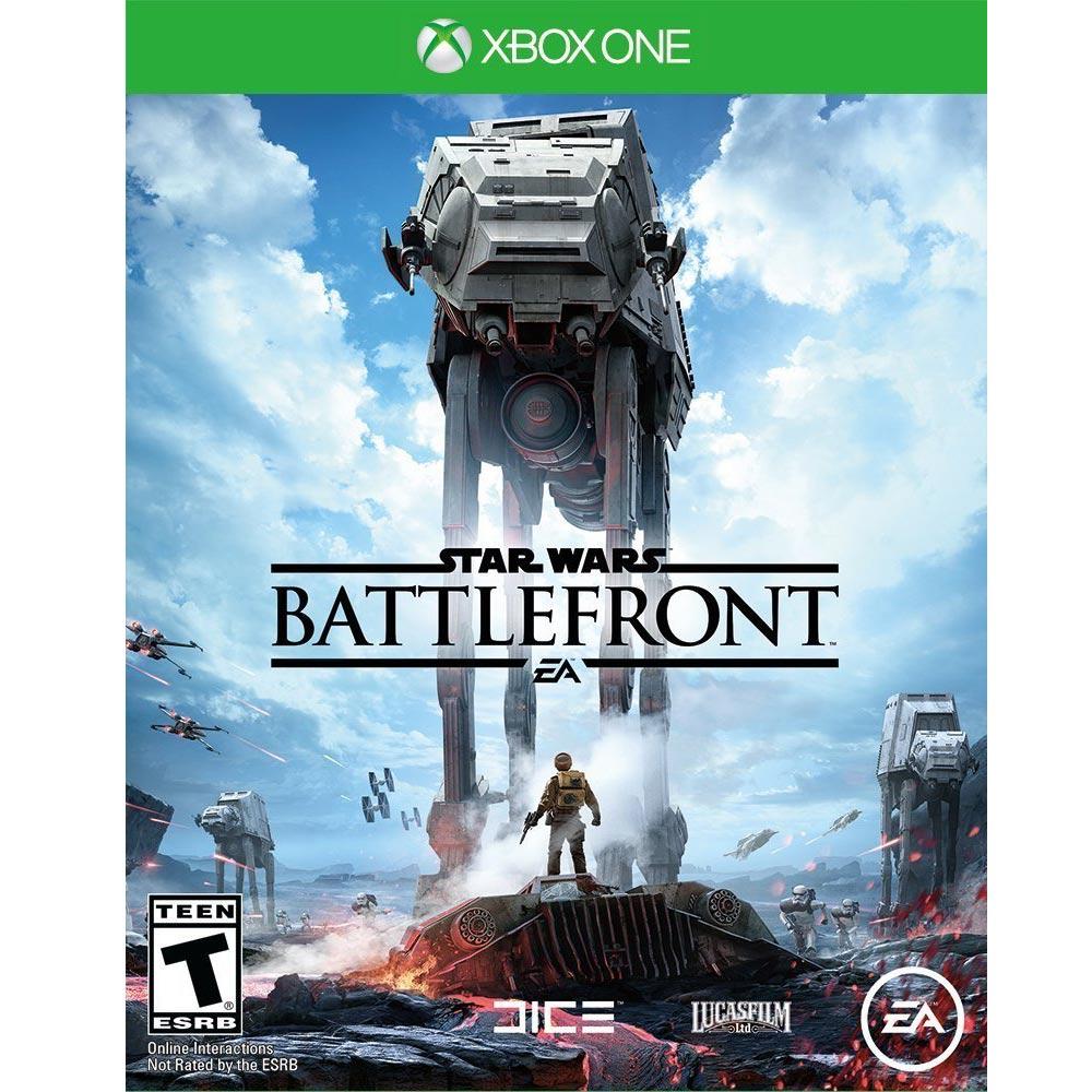 (全新包裝破損) XBOX ONE 星際大戰:戰場前線 中英文美版 Star Wars: Battlefront
