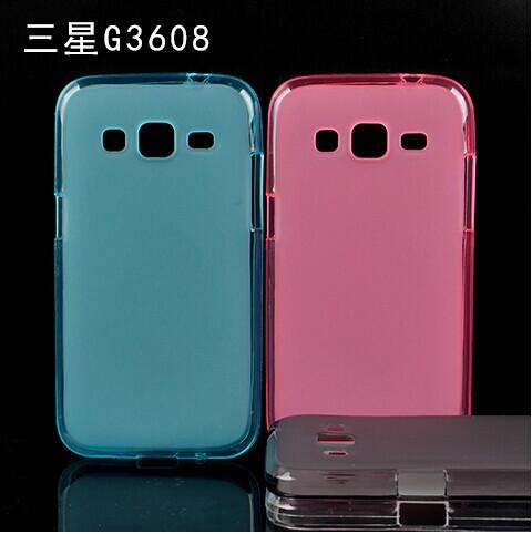 ☆三星Core Prime G3606 4.5吋小奇機 彩色布丁套 超薄後殼SamsungG3608 G3609清水套 軟背殼 【清倉】