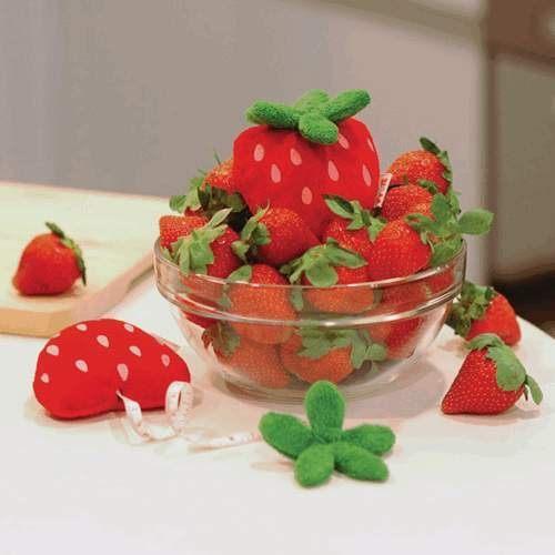 【F13070302】超可愛草莓捲尺 水果趣味捲尺 水果伸縮捲尺