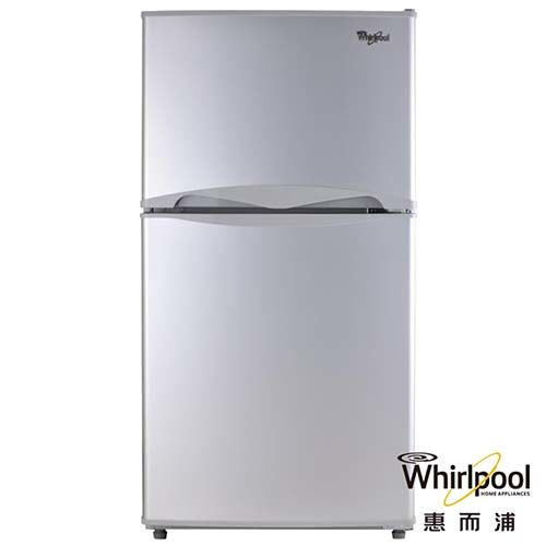 Whirlpool 惠而浦 130L 雙門電冰箱 WMT2130G(銀灰)