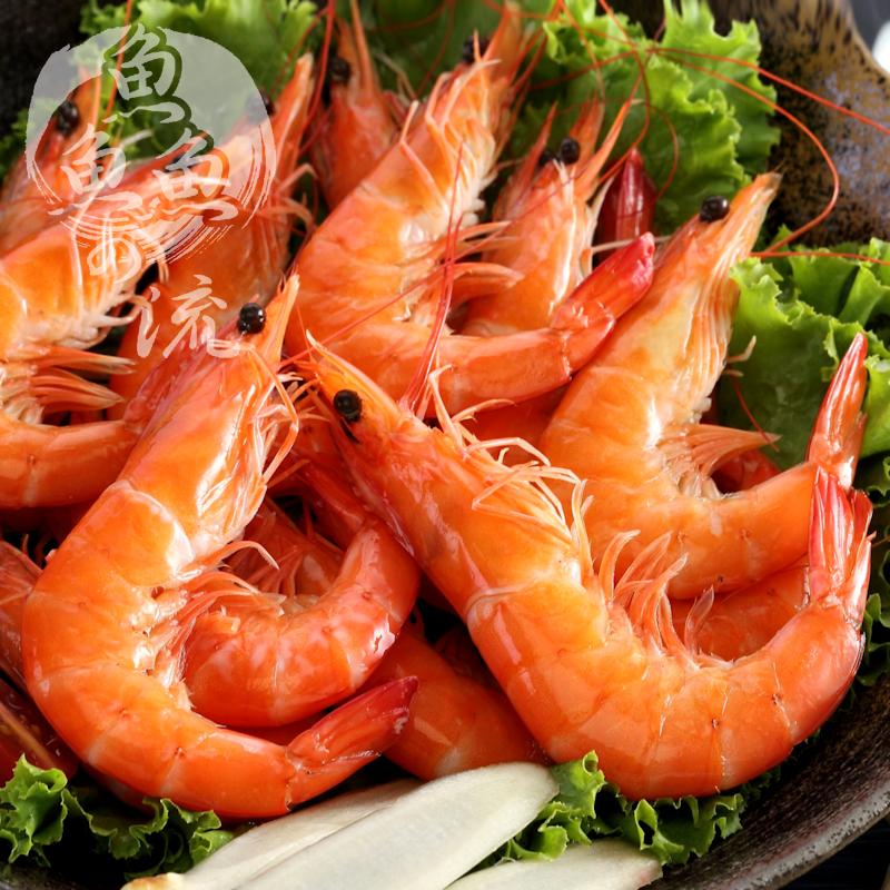 【鮮之流】台灣活凍海生白蝦, 700g/盒, 28-35尾/盒