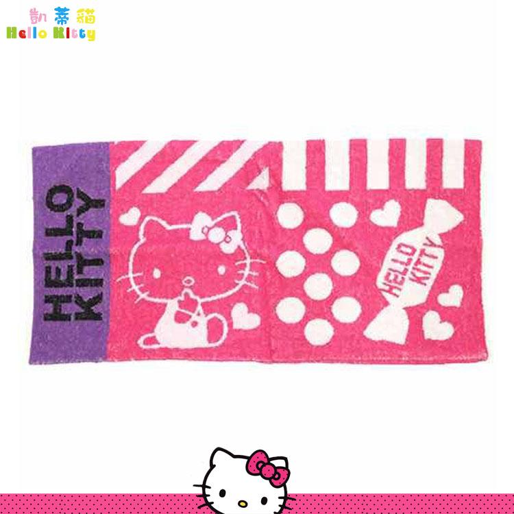 大田倉 日本進口正版 三麗鷗 Hello Kitty 凱蒂貓 全棉 毛巾布 彈性 柔軟舒適 枕頭套 枕套 551297