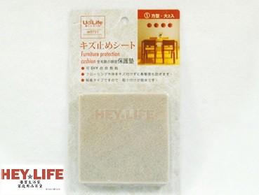 【HEYLIFE優質生活家】靜音保護墊 大 2入 方 靜音 桌腳 椅腳 防護 防撞 保護 防刮痕