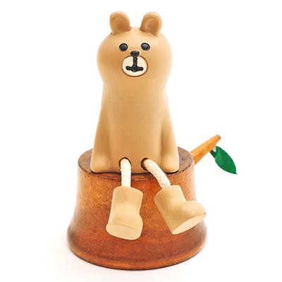 動物們的歡樂櫻花祭-森林物語原木年輪圓椅 ◤apmLife生活雜貨◢