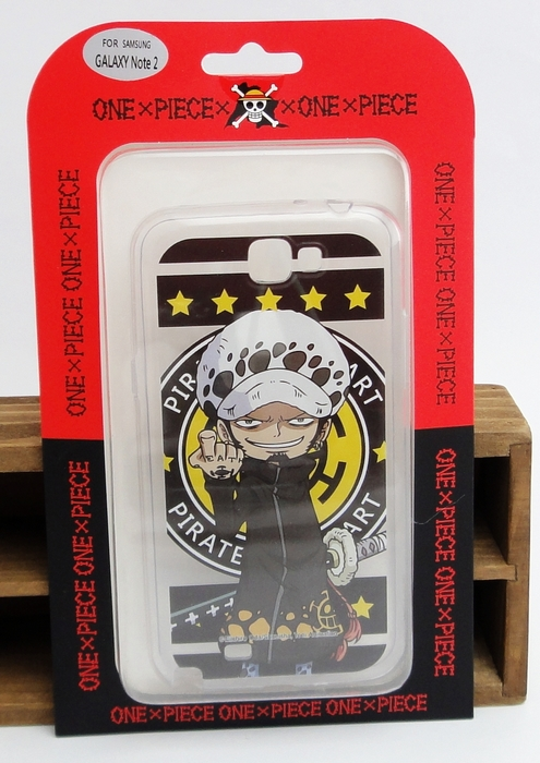 【UNIPRO】三星 Note2 N7100 航海王 海賊王 羅 one Piece 手機殼 透明軟殼 TPU 保護套