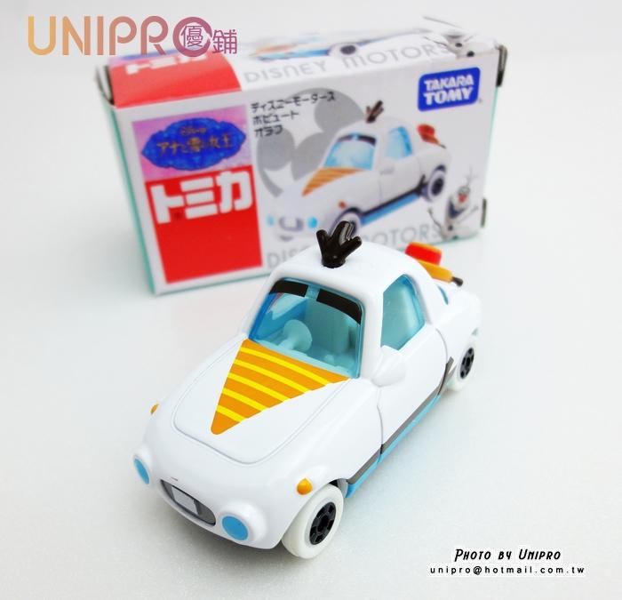 【UNIPRO】TAKARA TOMY 多美小汽車 Dream Tomica 冰雪奇緣 小車 雪寶小汽車玩具車 模型車 OLAF