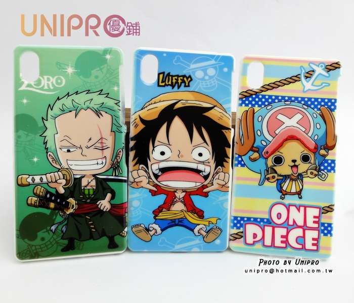 【UNIPRO】SONY Xperia Z2 D6503 航海王 海賊王 魯夫 喬巴 索隆 One Piece 手機殼