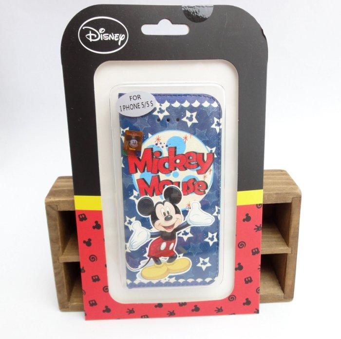 【UNIPRO】iPhone 5 5S 迪士尼 米奇 Mickey Mouse 米老鼠 手機保護套 皮套 正版授權 i5