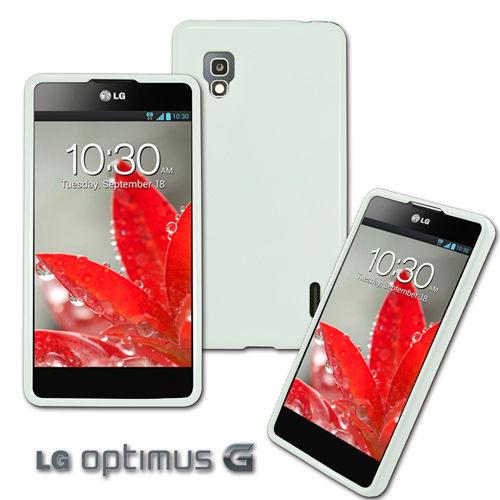 UNIPRO【LG04】Simply Design LG Optimus G E975 專用韓風軟式保護套 手機套 TPU 白色