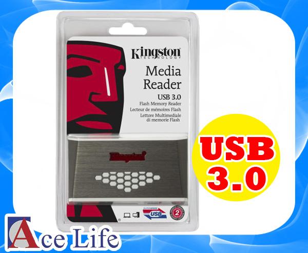 【九瑜科技】Kingston 金士頓 USB 3.0 高速 讀卡機 FCR-HS4 Reader 支援 手機 相機 SD CF MS Sony HTC Samsung