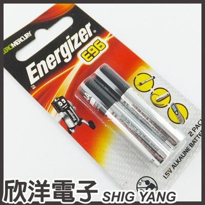 ※ 欣洋電子 ※ Energizer 勁量 E96 AAAA 6號鹼性電池 1.5V (2入)