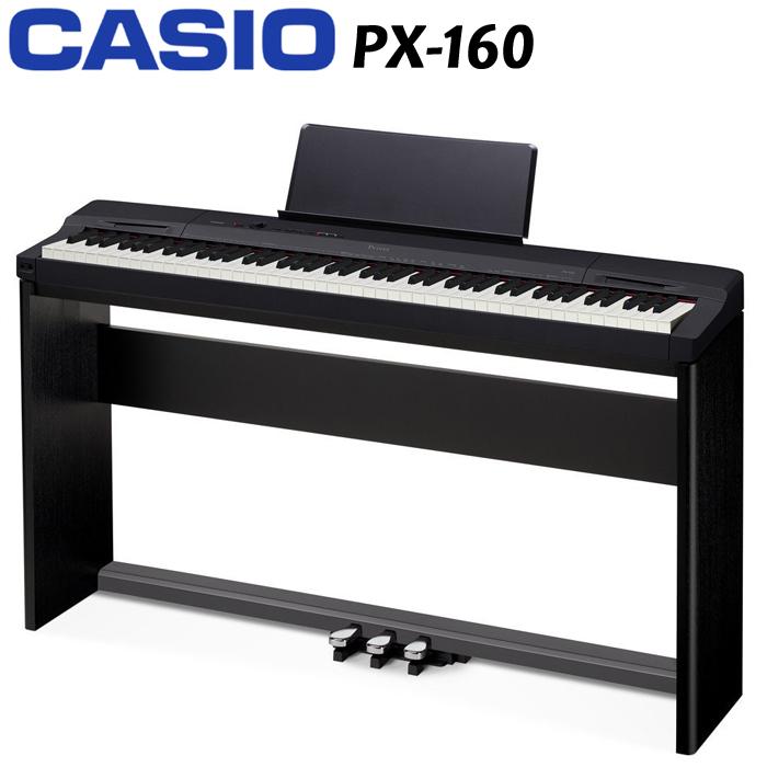 【非凡樂器】CASIO 最新發表Privia 數位鋼琴PX-160【超值好禮獨家大放送】