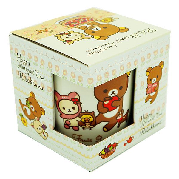 【真愛日本】16011200010拉拉熊馬克杯-小鹿黃 Rilakkuma 懶懶熊 拉拉熊 san-x 杯子
