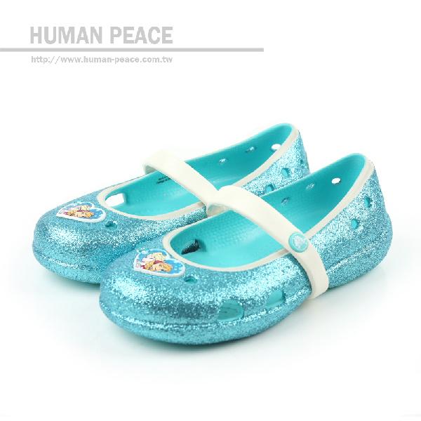 Crocs 休閒鞋 藍 小童 no291