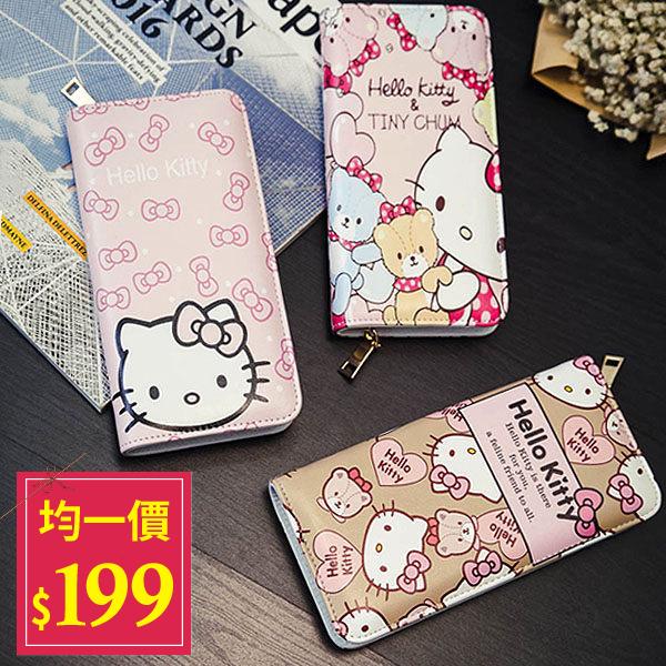 Kitty長夾-2016新款超可愛卡通Hello Kitty 米奇米妮萬用大容量手拿長夾?AN SHOP?