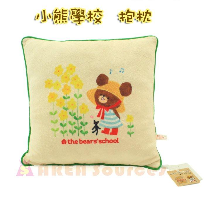 【禾宜精品】小熊學校 傑琪 方型 靠枕 抱枕 靠墊 30*30 cm 生活百貨 B102013-D