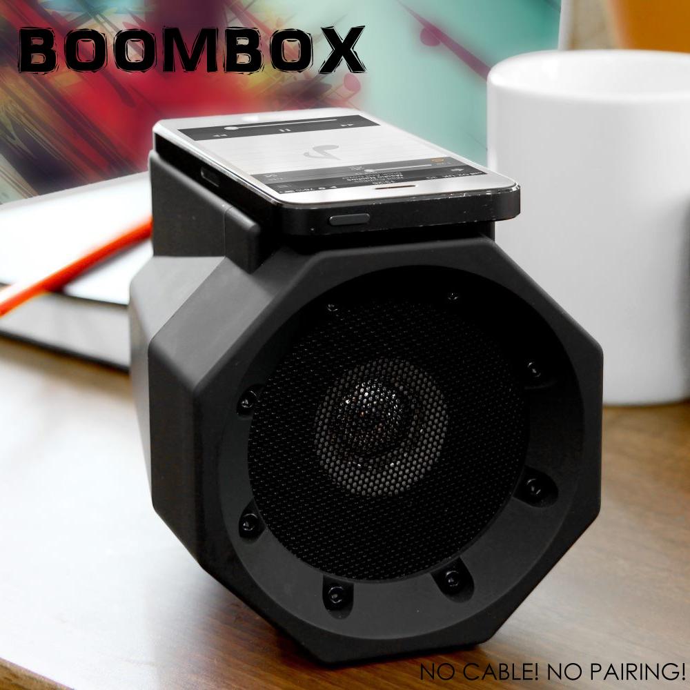 <即放即響>Touch Speaker Boombox 大功率手機共振音箱 無線連接創意音箱 魔術音箱 iPhone Apple手機/HTC/三星