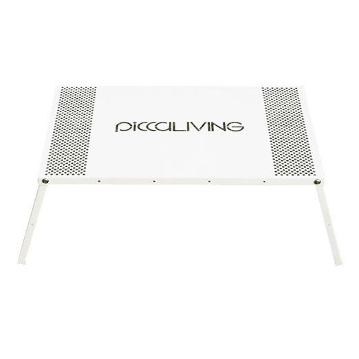 ├登山樂┤ 台灣PICCALIVING IRON CAMP FOLDING TABLE - AW PICCALIVING 鐵製露營折疊桌 原創素雅款 冰雪白#P-ICFT-AW