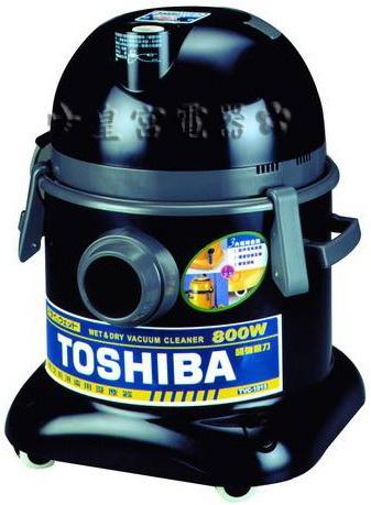 ?皇宮電器? TOSHIBA 東芝牌 乾濕兩用吸塵器 TVC-1015 高密度過濾網 可過濾0.5μ微塵 雙色軟質滑輪 不傷地板