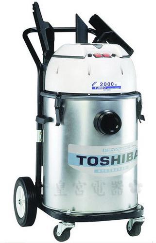 ?皇宮電器? TOSHIBA 東芝牌 工業用乾濕兩用吸塵器 TVC-1040 (110V電壓) 兩組雙層增壓渦輪馬達 單組馬達亦可獨立使用