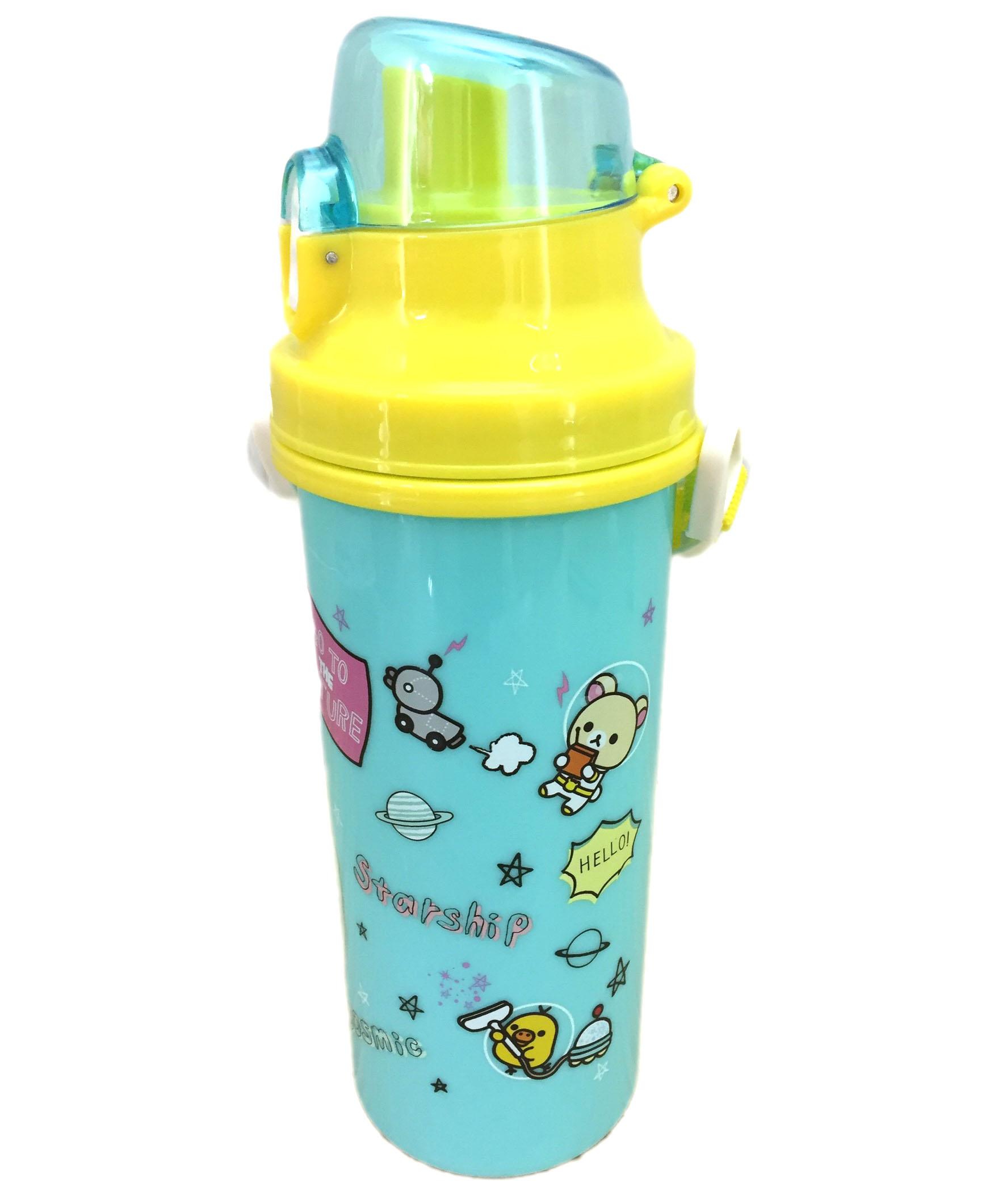 【真愛日本】16072700018拉拉熊680CC直飲水壺-太空綠   SAN-X 懶熊 奶熊 拉拉熊  水壺 水瓶 生活用品 卡通水壺