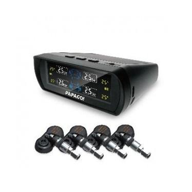 【迪特軍3C】PAPAGO Tire Safe S60I 無線太陽能胎壓偵測器-胎內式