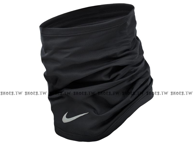 Shoestw【AC3602-001】NIKE 運動頸套 百變頭巾 保暖保護 黑色