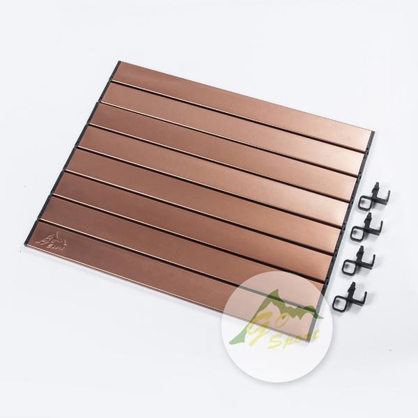 【露營趣】中和 GO SPORT 92491-4 竹板料理桌鋁捲桌面 蛋捲桌面(適用於92491)