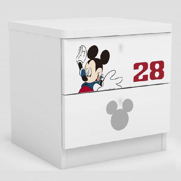 [首雅傢俬] 米奇 世界盃 床邊櫃 迪士尼 家具