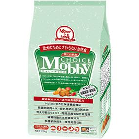 *Mi Gu*莫比Mobby《雞肉+米》7.5kg小型幼 / 母犬專用配方 - 莫比寵物自然食