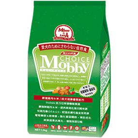*Mi Gu*莫比Mobby《雞肉+米》7.5kg小型成犬專用配方 - 莫比寵物自然食