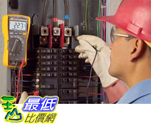 (公司貨) Fluke 117 / EM ESP 電子非接觸式電壓測量萬用電表