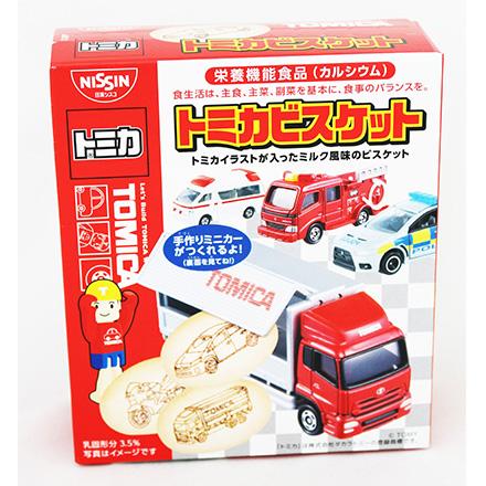 日清Cisco TOMICA汽車餅乾55g