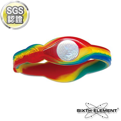 第六元素IEB負離子高能量手環 523 五色迷彩