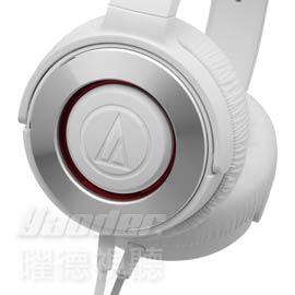 【曜德★新上市】鐵三角 ATH-WS550 銀白 密閉式動圈型 易攜帶耳罩式耳機 ★免運★送收納袋★