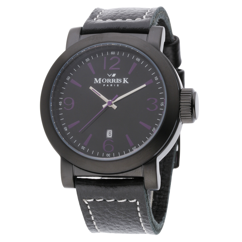 【Morris K】羅志祥代言 經典復古大三針時尚腕錶 MK12025-UB03