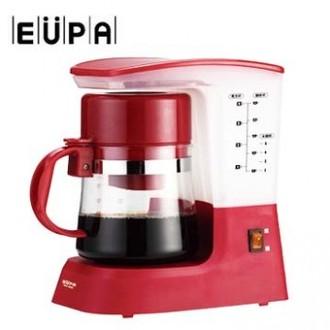 《尾牙買多更優惠》【優柏】多功能coffee茗茶咖啡機TSK-1948A(紅色)
