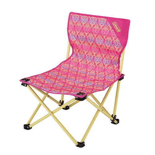 【露營趣】中和 美國 Coleman 紅葉圖騰樂趣椅 折疊椅 休閒椅 釣魚椅 童軍椅 CM-22015