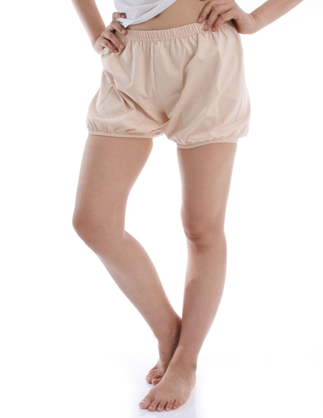 RTBU瑜珈褲~燈籠褲造型。米色