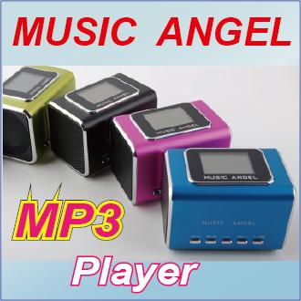 (( Music Angel )) 音樂天使 插卡MP3播放器 / 插卡MP3音箱 / 迷你MP3喇叭音響 / MD-05X