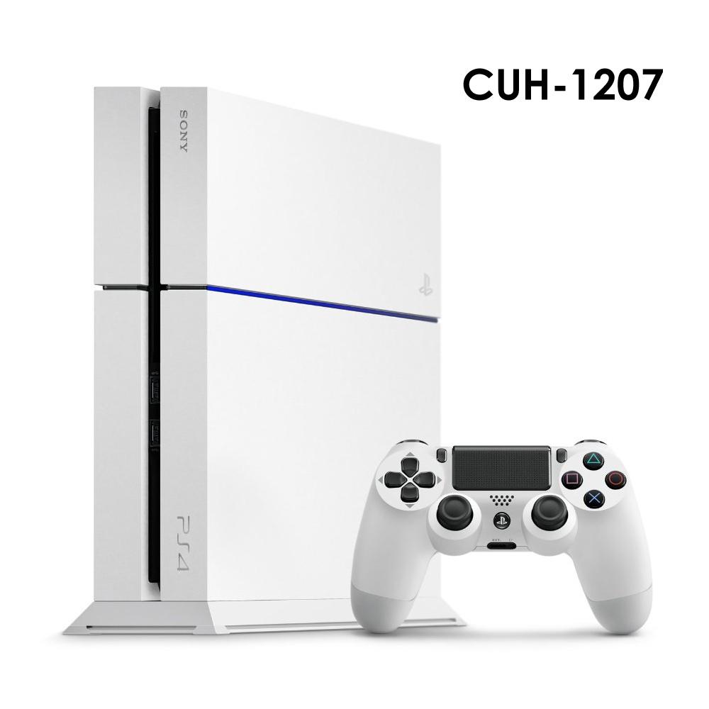 PS4 CUH-1207系列 500G主機 (冰河白)