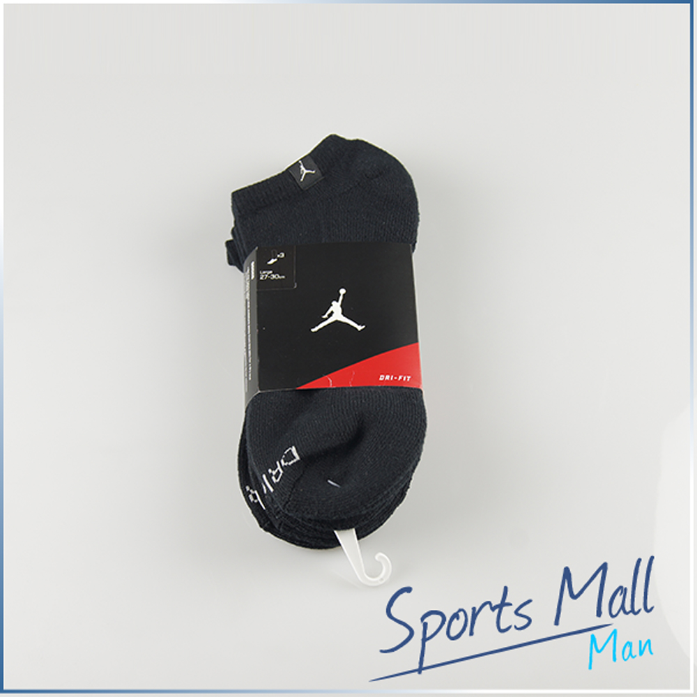 有感促銷350元 NIKE 耐吉 NIKE AIR JORDAN CREW SOCK DRI-FIT 3入 裸襪 專業運動襪 546479012