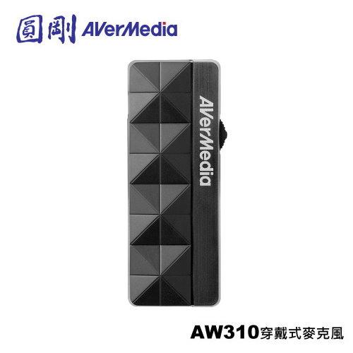 AVerMedia 圓剛 AW310 穿戴式麥克風 免手持麥克風 讓你輕鬆授課