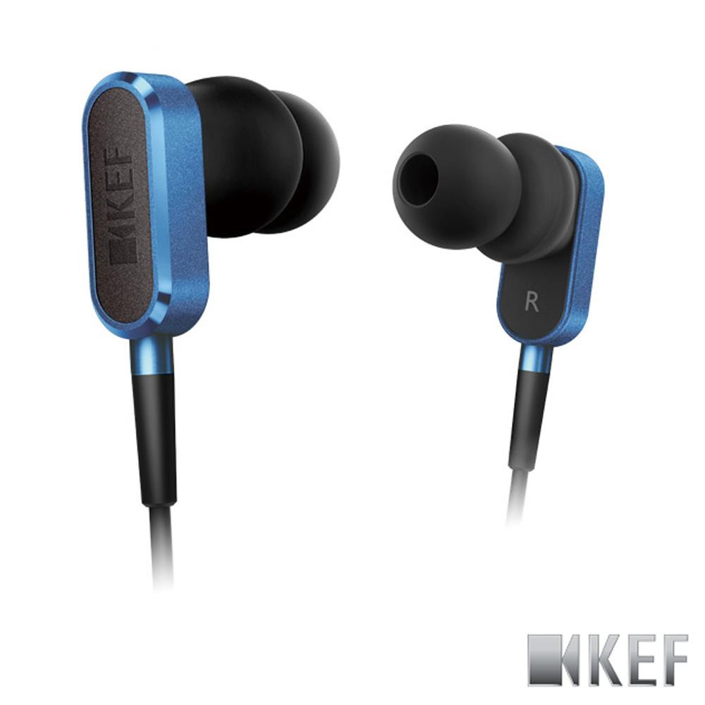 歌手方大同代言 英國 KEF M100 賽車藍 鋁合金 10mm釹磁?單體 耳道式耳機