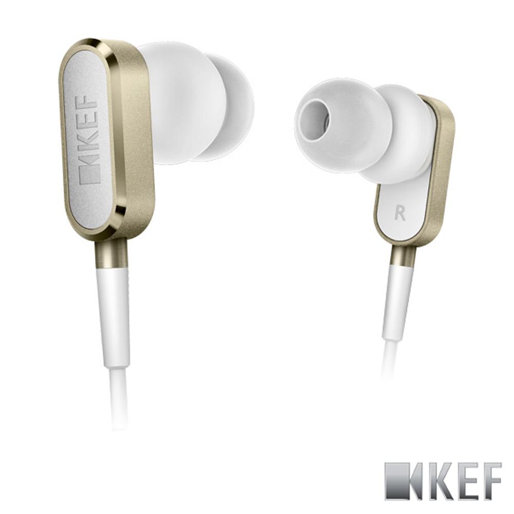 歌手方大同代言 英國 KEF M100 香檳金 鋁合金 10mm釹磁?單體 耳道式耳機
