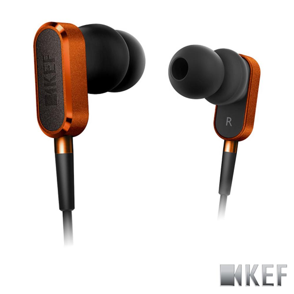 歌手方大同代言 英國 KEF M100 日落橙 鋁合金 10mm釹磁?單體 耳道式耳機