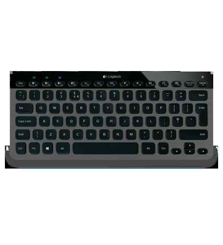 Logitech 羅技 K810 無線 藍牙 炫光鍵盤 電腦/平板/智慧型手機 WIN 8 輕鬆切換